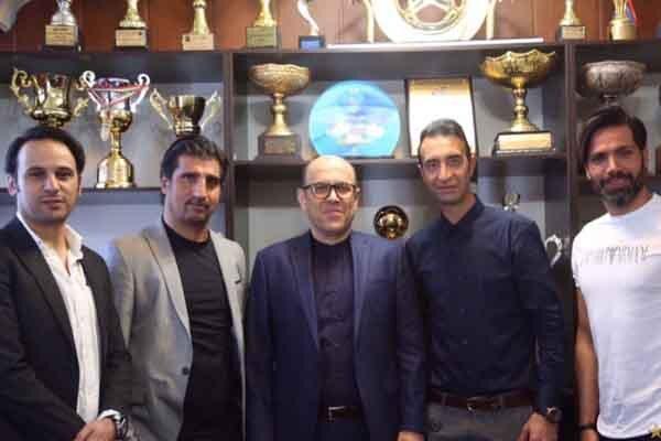 ملاقات و گفتگوی چهار پیشکسوت استقلال با مدیرعامل باشگاه