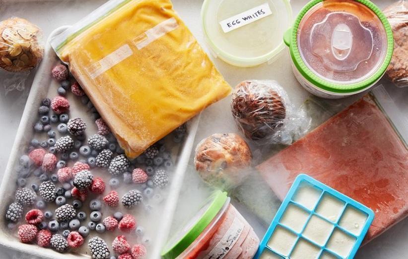 روش صحیح فریز کردن مواد غذایی چگونه است؟
