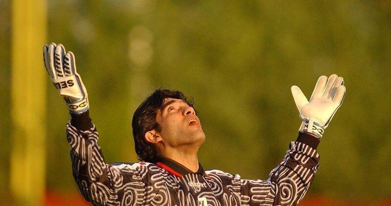 عکس؛ ملاقات عابدزاده با ورزشکاری که کرونا را شکست داد