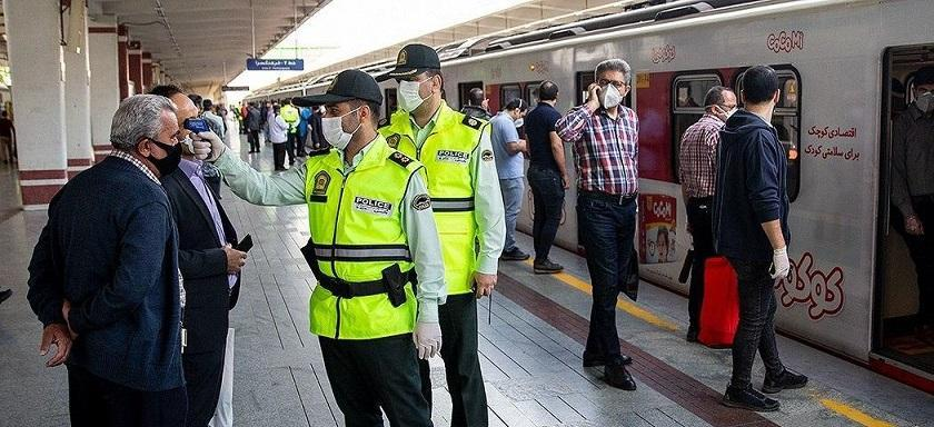 ورود افراد بدون ماسک به مترو و اتوبوس از فردا ممنوع است