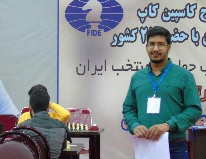 عنوان داور بین المللی دنیا برای شطرنج باز مشهدی