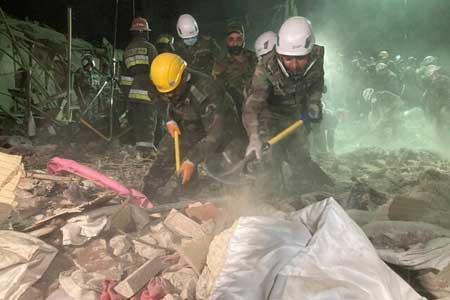 کشته شدن 12 نفر در حمله موشکی به 2 شهر جمهوری آذربایجان