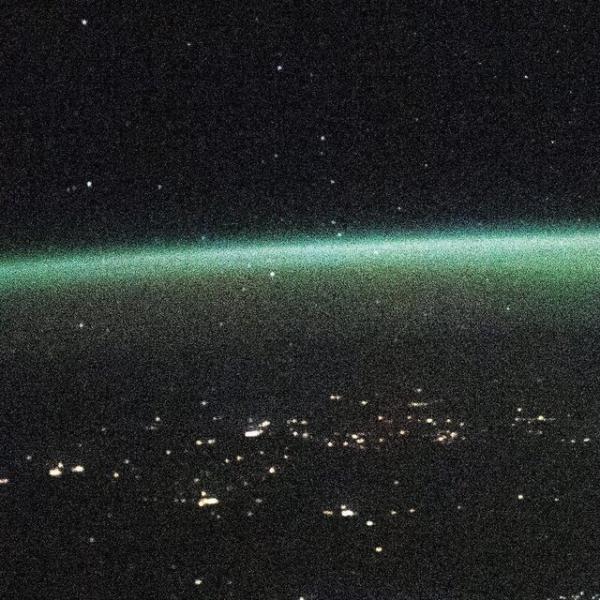 تصویر جدید ایستگاه فضایی بین المللی از شفق قطبی
