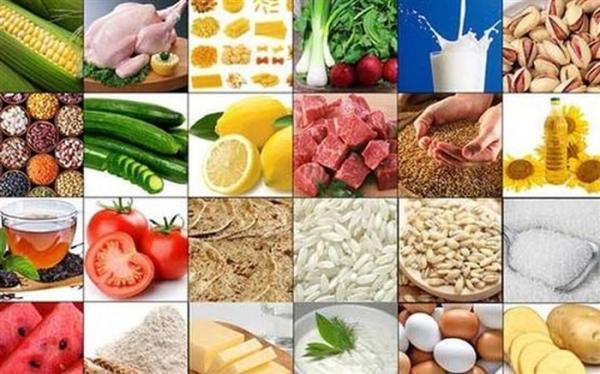 افزایش نرخ اقلام خوراکی در اسفند 99