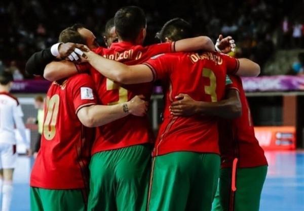 جام جهانی فوتسال ، قزاقستان 2(3)، (4)2 پرتغال؛ صعود سخت پرتغال به فینال